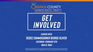 Canvas with Ocoee Commissioner George Oliver