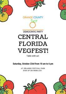 Central Florida Vegfest Tabling @ Orlando Festival Park