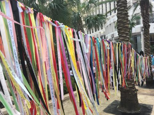 Prayer Ribbons at Honor Them With Action